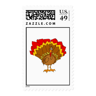 Turquía rechoncha sellos
