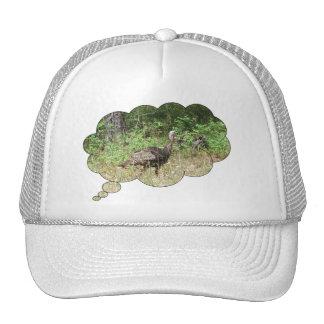 Turquía salvaje dentro gorras