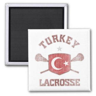Turquía-Vintage Imán Cuadrado