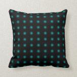 Turquoise 3D Color Design Pillow 1