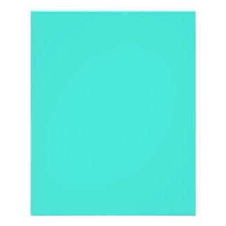 "Turquoise 4.5"" X 5.6"" Flyer"