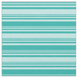[ Thumbnail: Turquoise and Light Sea Green Colored Pattern Fabric ]