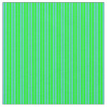 [ Thumbnail: Turquoise and Lime Colored Pattern Fabric ]