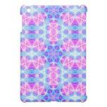Turquoise and Pink Hippie Mandala Pattern iPad Mini Covers