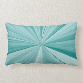Turquoise and Teal Pinch Knot Pillow