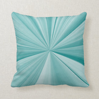 Turquoise and Teal Pinch Knot Sofa Pillow by Janz