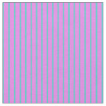 [ Thumbnail: Turquoise and Violet Lines/Stripes Pattern Fabric ]