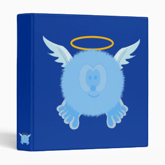 Turquoise Angel Pom Pom Pal Binder
