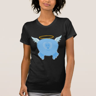 Turquoise Angel Pom Pom Pal Shirt