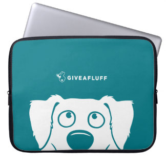 Turquoise Aussie Creeper Laptop Sleeve