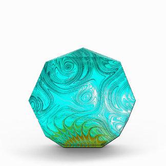 Turquoise Ayes - IMRAN™ Acrylic Award