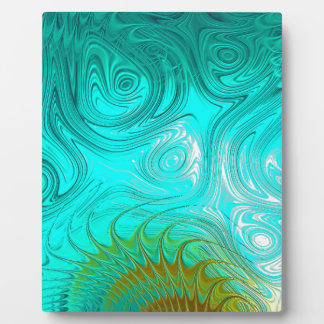 Turquoise Ayes - IMRAN™ Plaque