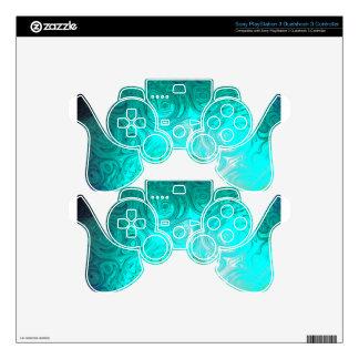 Turquoise Ayes - IMRAN™ PS3 Controller Skin