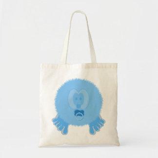 Turquoise Baby Pom Pom Pal Bag