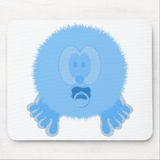 Turquoise Baby Pom Pom Pal Mousepad