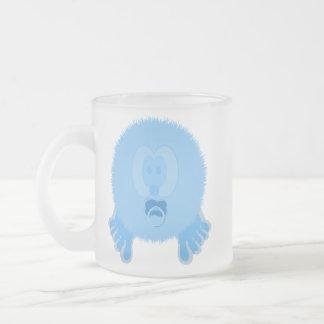 Turquoise Baby Pom Pom Pal Mug