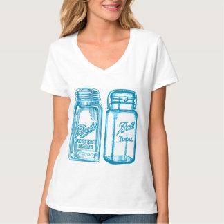 Turquoise Ball Jars T-Shirt