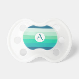 Turquoise Bands Pacifier