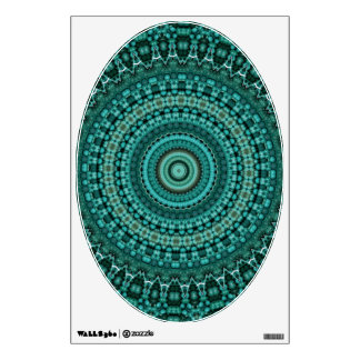 Turquoise Beads 4 - Art for Your Toilet Room Decal