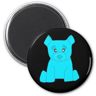 Turquoise Bear Magnet