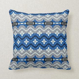 turquoise, Black & Tan  Southwestern Design Pillow