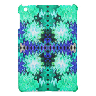 turquoise blue abstract cover for the iPad mini