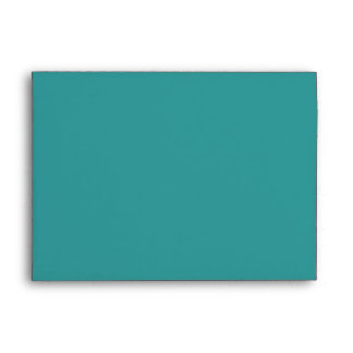 Turquoise blue abstract envelope