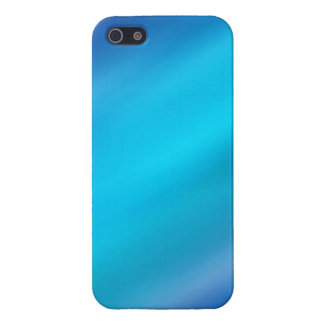 Turquoise Blue Aqua & Blue Violet Abstract Cover For iPhone SE/5/5s