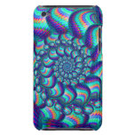 Turquoise Blue Balls Fractal Pattern iPod Touch Covers