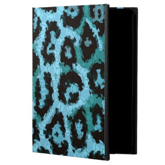 Turquoise Blue Cheetah Abstract Pattern Powis iPad Air 2 Case