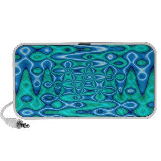 turquoise blue dream portable speaker