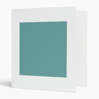 Turquoise blue-green bold binder