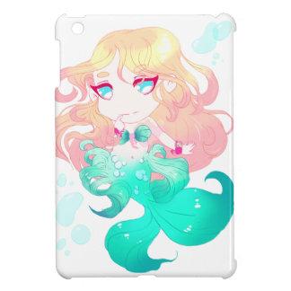 Turquoise Blue Mermaid Case For The iPad Mini