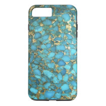 """Turquoise Blue Phone Case"" iPhone 7 Plus Case"