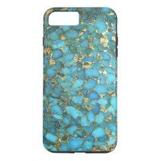 """Turquoise Blue Phone Case"" iPhone 7 Plus Case at Zazzle"
