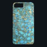 """&quot;Turquoise Blue Phone Case&quot; iPhone 8 Plus/7 Plus Case<br><div class=""""desc"""">&quot;Turquoise Blue Phone Case&quot;</div>"""