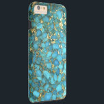 """&quot;Turquoise Blue Phone Case&quot; Tough iPhone 6 Plus Case<br><div class=""""desc"""">&quot;Turquoise Blue Phone Case&quot;</div>"""