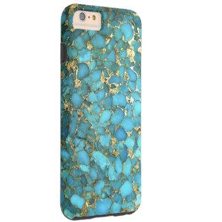 """Turquoise Blue Phone Case"" Tough iPhone 6 Plus Case"