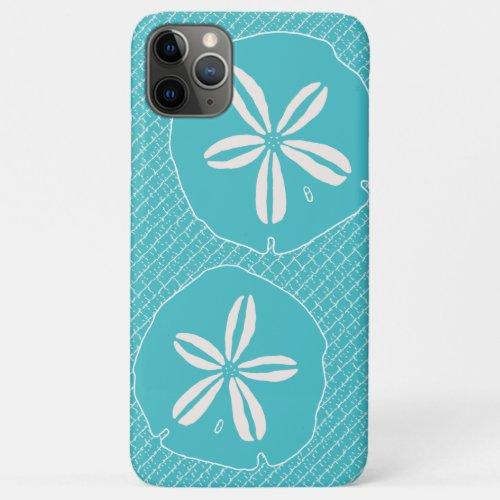 Turquoise Blue Sand Dollar Designer Case Phone Case