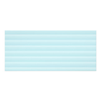 Turquoise Blue Stripes. Rack Card Template