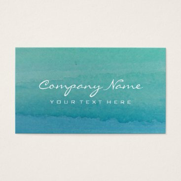 backgroundpatterns Turquoise blue watercolor art business card design