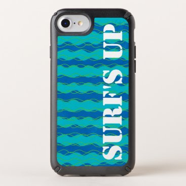 Turquoise Blue Waves Surf's Up Beach Speck iPhone Case