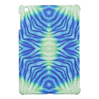 Turquoise Blue Zebra Cover For The iPad Mini