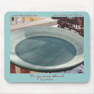 Turquoise Bowl Mousepad
