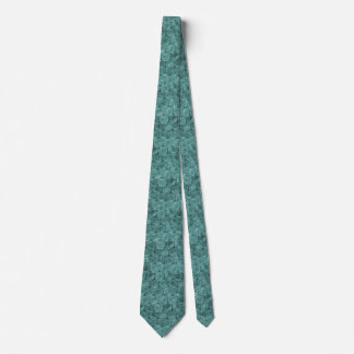 Turquoise bubble wrap pattern tie