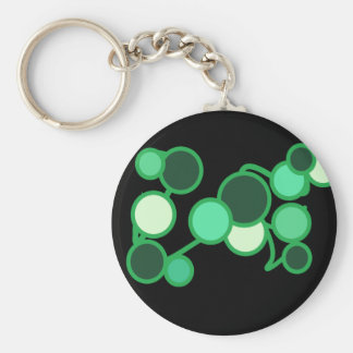 Turquoise Bubbles Keychain