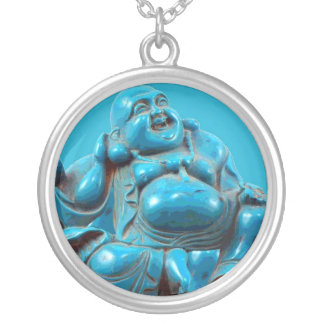 Turquoise Buddha Vintage Costume Jewelry Charm