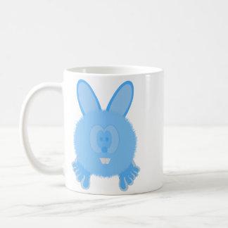 Turquoise Bunny Pom Pom Pal Mug