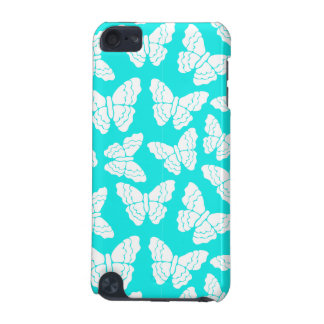 Turquoise butterflies iPhone 3 case