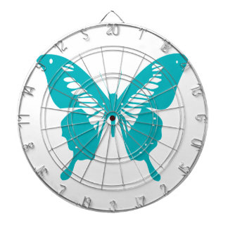 Turquoise Butterfly Dartboards